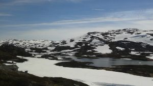 View from the Oslo-Bergen Railway